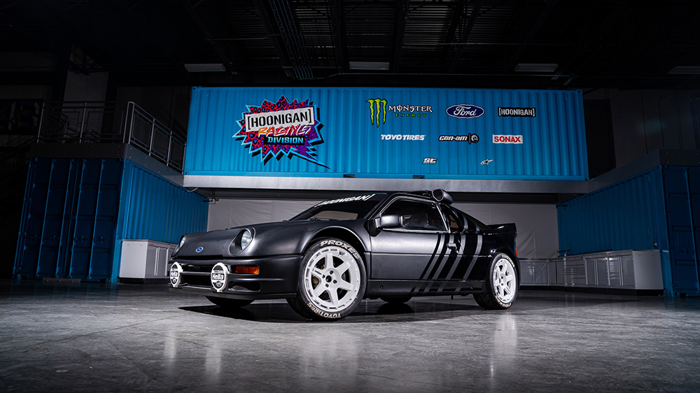 Ken Block 1986 Ford RS200