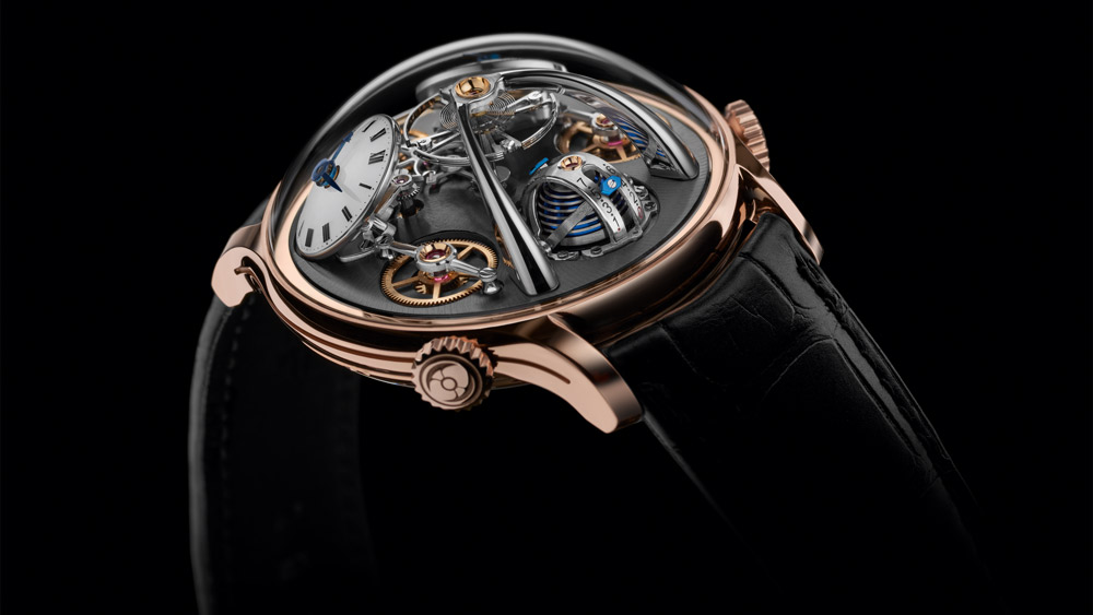 MB&F LMX in 18-Karat 5N Red Gold