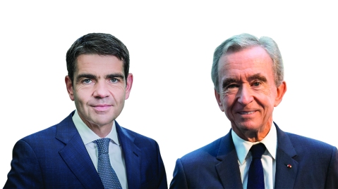 Jérôme Lambert and Bernard Arnault