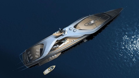 Pininfarina and Oceanco have partnered to create the Kairos project of electric superyachts