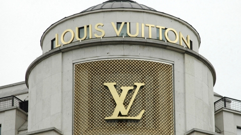 File photo dated June 2011 of the Louis Vuitton flagship store on the Champs Elysees in Paris, France. Vendome sold part of the brand rights of its name to Louis Vuitton. In 2018, shortly after the announcement of the flagship brand of the LVMH group of its intention to set up a leather goods workshop in this small town of Loir-et-Cher, located less than 200 kilometers south of Paris, France, the municipality sold the Vendome brand for 10,000 Euros for its leather products. It did it again at the start of the year, ceding her brand for the same amount, this time for jewelry products. Photo by Alain Apaydin/Abaca/Sipa USA(Sipa via AP Images)