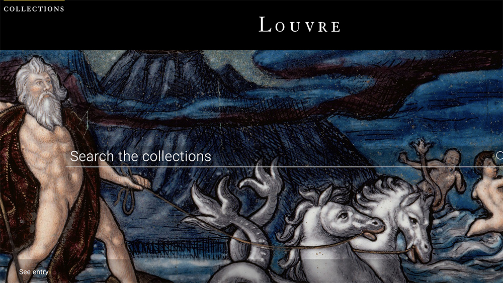 The Louvre's Collections Database