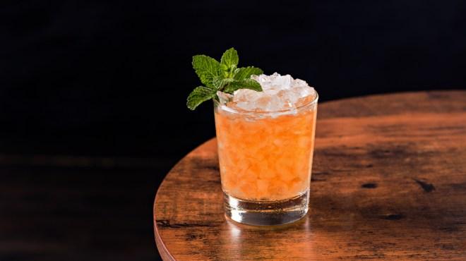 midnight stinger cocktial