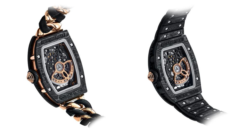 Richard Mille RM 07-01 Casebacks