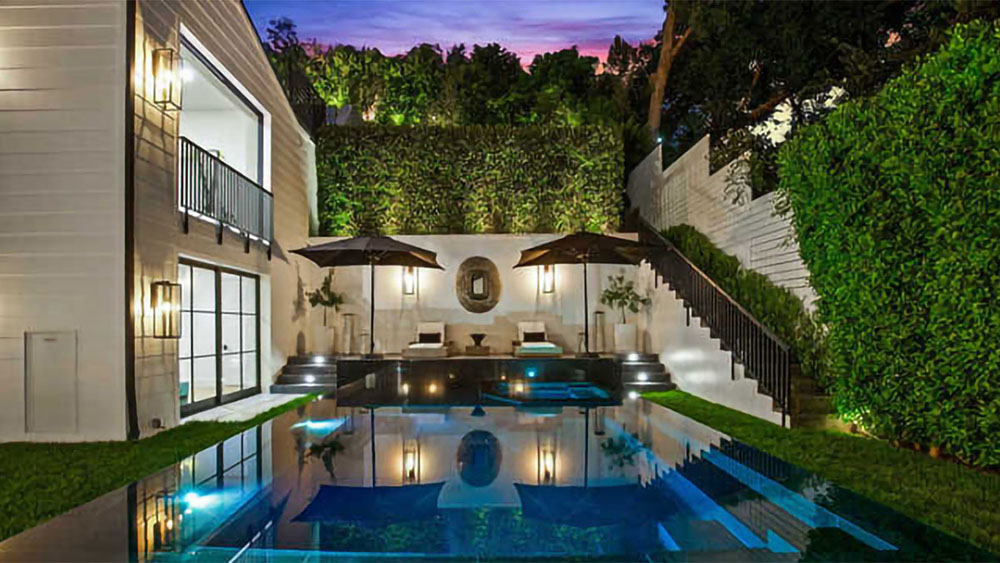 Rihanna Beverly Hills Mansion