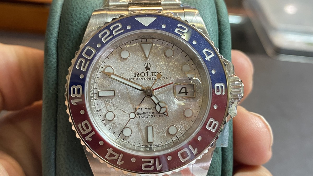 "Rolex GMT-Master II Meteorite ""Pepsi"""