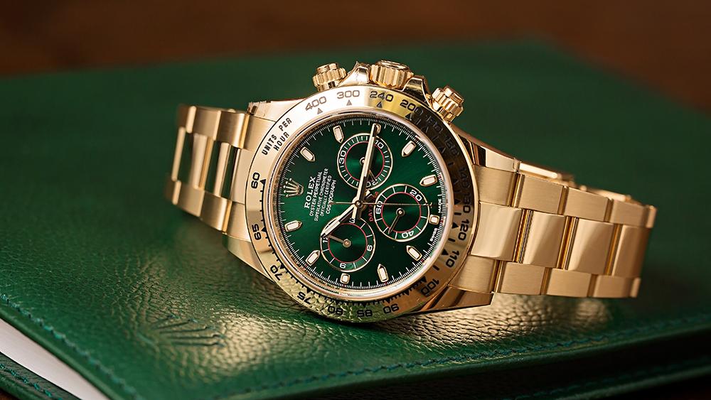 Rolex Gold Cosmograph Daytona