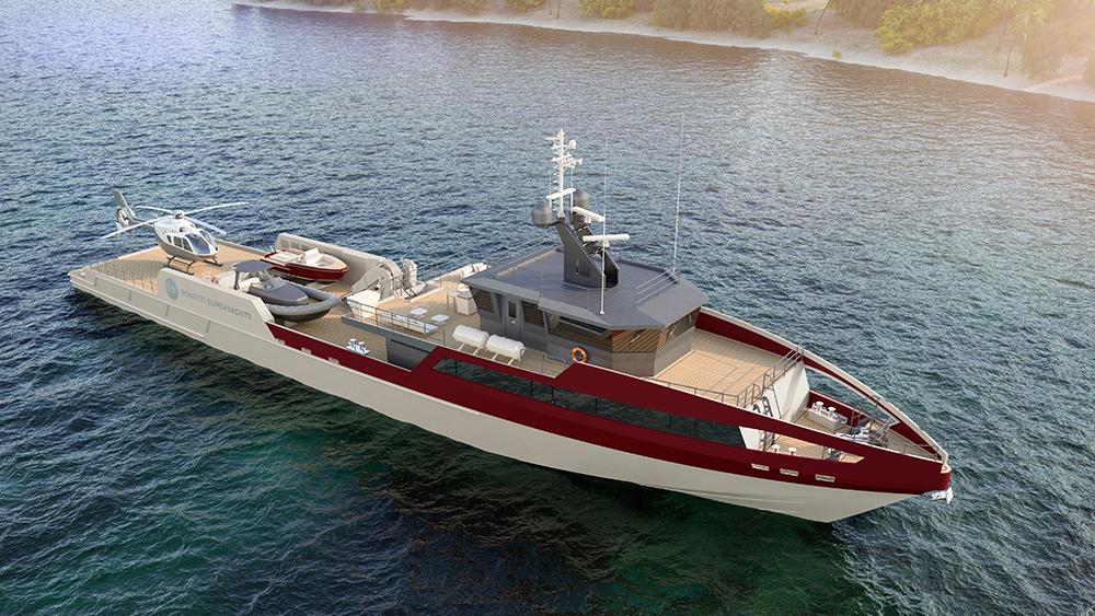 Rosetti 55m Supply Vessel