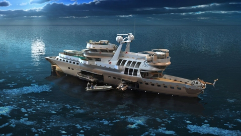 Arctic Owl Expedition Vessel