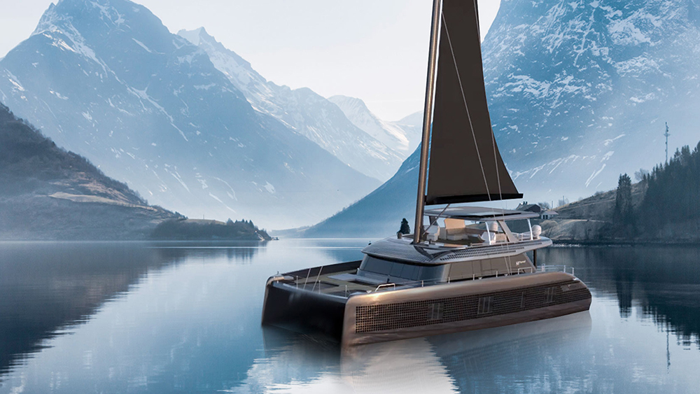 Sunreef's New All-Electric Catamaran Blends Solar and Wind Energy for Unlimited Range