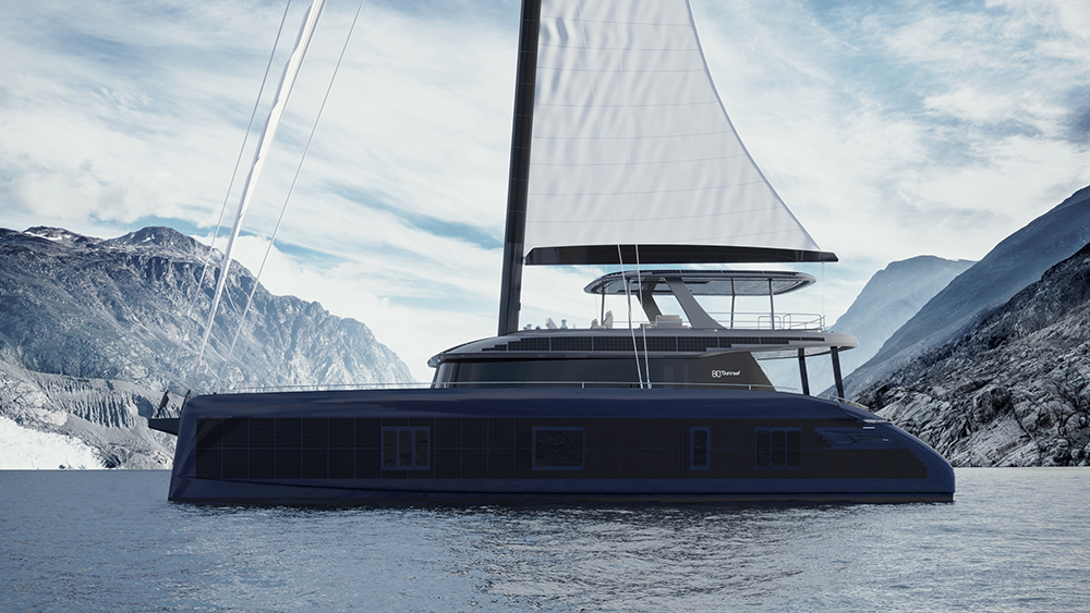 Sunreef 80 Eco catamaran