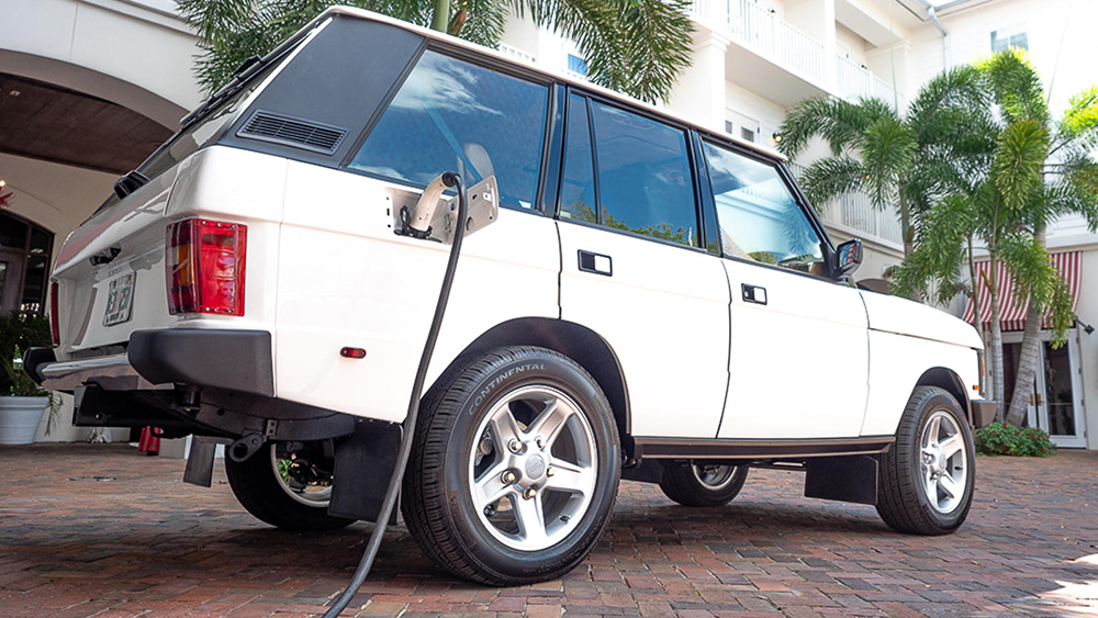 Electric Tesla Range Rover