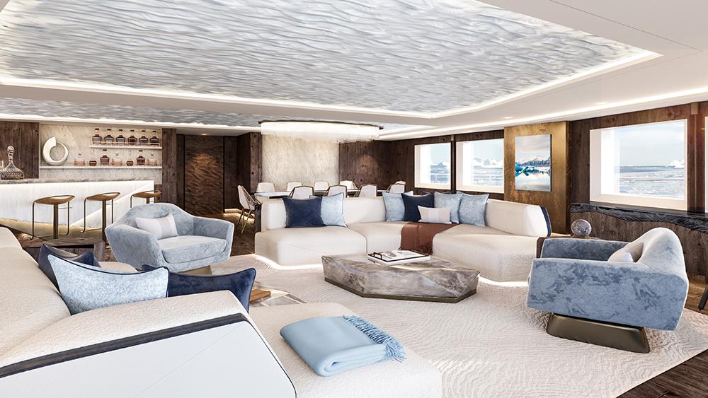 Winch Design's upper lounge