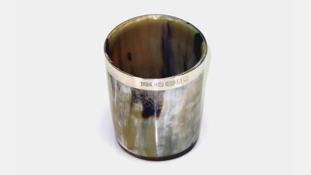 Abbeyhorn Silver Horn Whiskey Tot