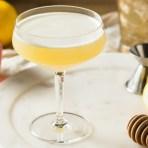 Bee's Knees Cocktail honey lemon gin