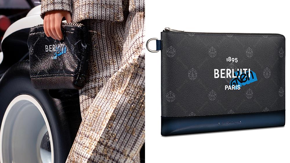 The $1,030 Berluti x Ken Nino pouch.
