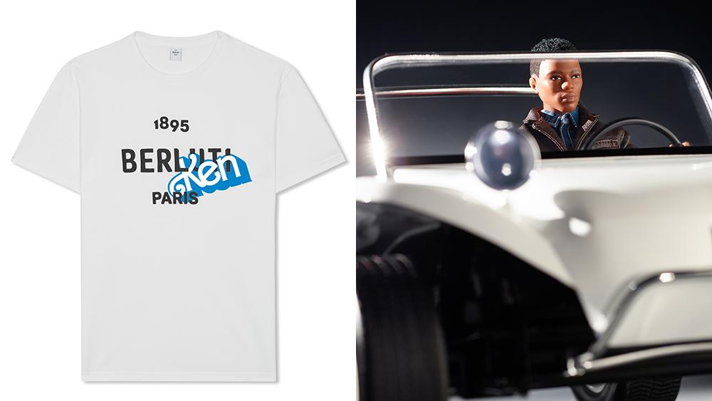 The $380 Berluti x Ken T-shirt.