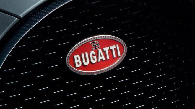 The Bugatti badge