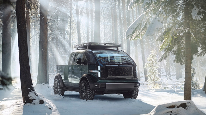 Canoo's all-electric pickup truck concept