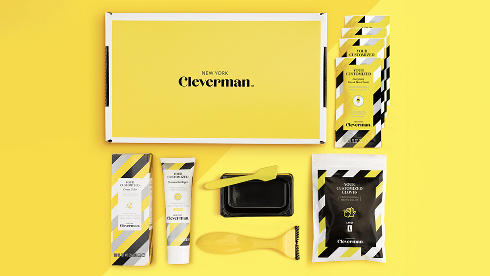 Cleverman's beard coloring kit.