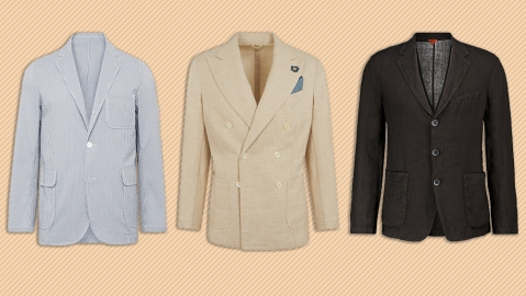 Blazers by Beams Plus, G. Inglese and Barena.