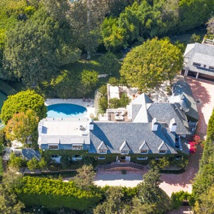 Ellen DeGeneres and Portia de Rossi's Beverly Hills mansion