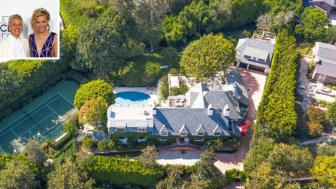 Ellen DeGeneres and Portia de Rossi's Beverly Hills mansion