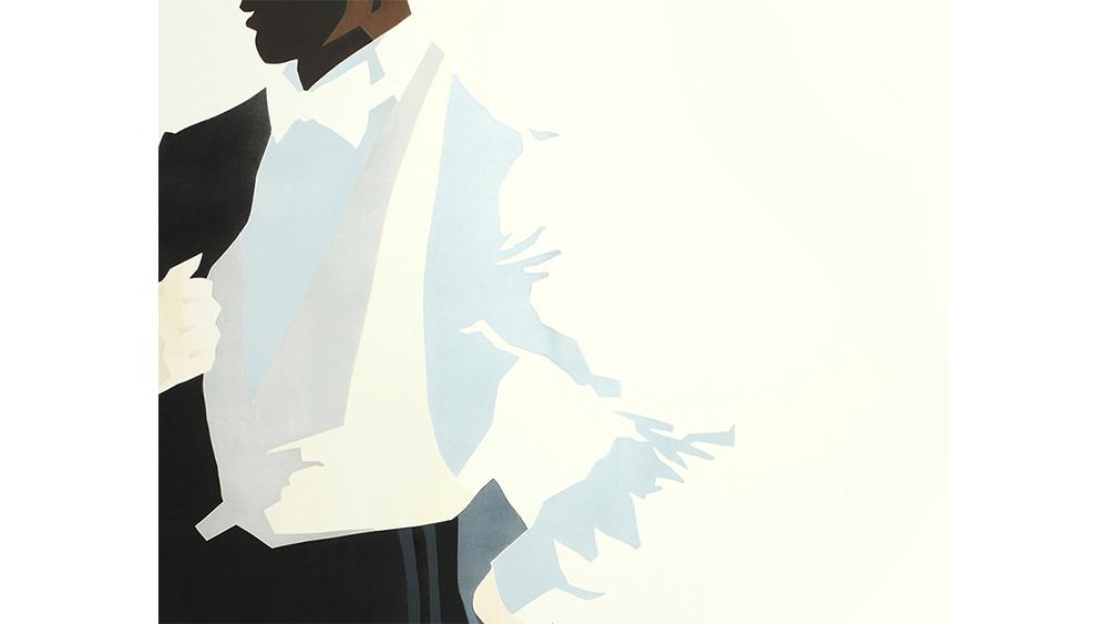 A Fab Gorjian illustration of white tie formalwear.