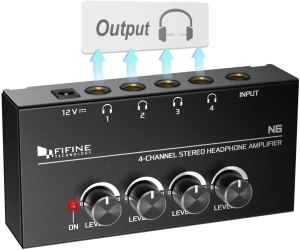 Fifine Headphone Amplifier