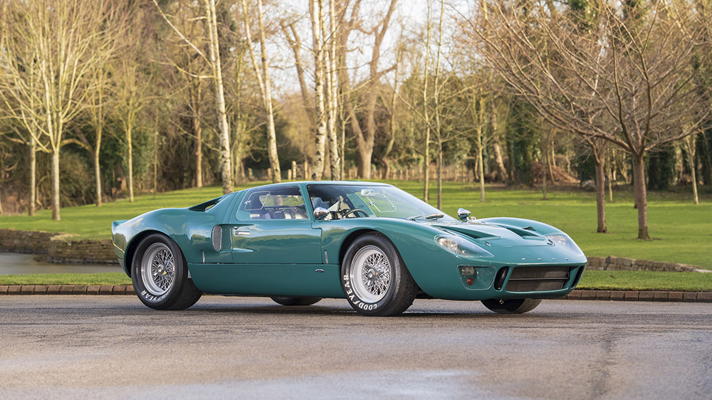 An Ultra-Rare Street-Legal 1966 Ford GT40 MK1 Just Went up for Sale - Robb Report