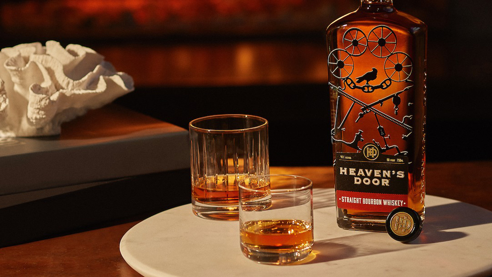 Heaven's Door Straight Bourbon Whiskey