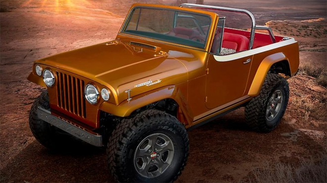 Jeep Jeepster Beach concept vehicle