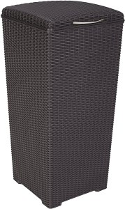 Keter Large Outdoor Trash Can
