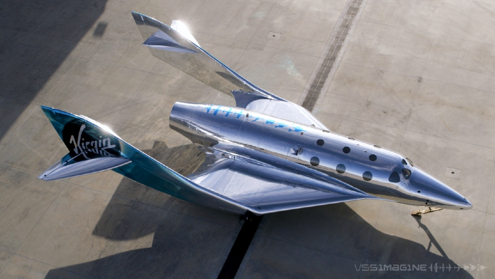 The Virgin Galactic VSS Imagine is the third generation spaceship that will soon venture into space