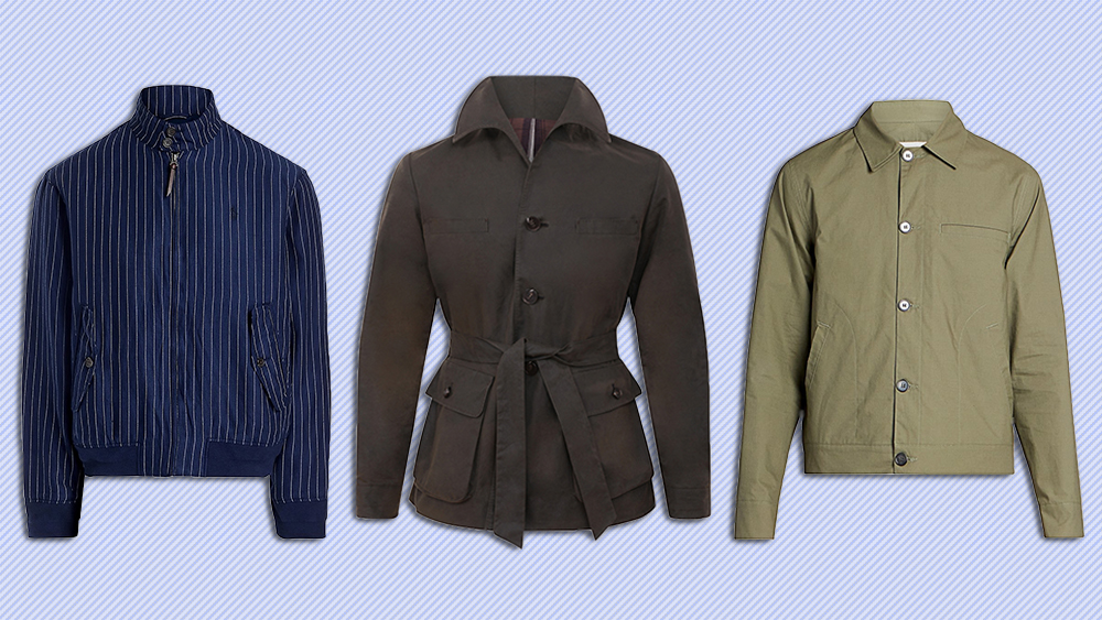 Jackets by Polo Ralph Lauren, Yuri & Yuri and Officine Generale.