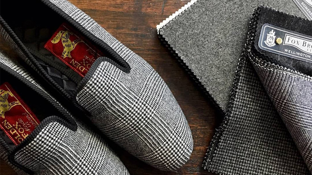 Fox Flannel slippers from Maker & Company