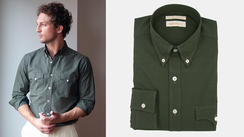 Maker & Company Western Shirt