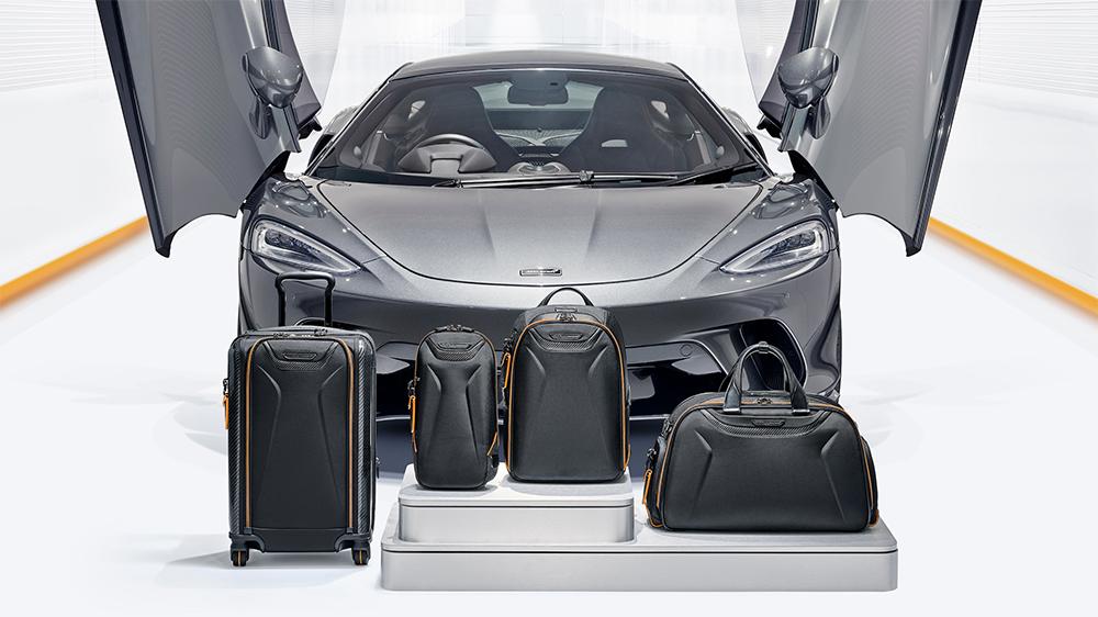 McLaren + Tumi Luggage Capsule Collection