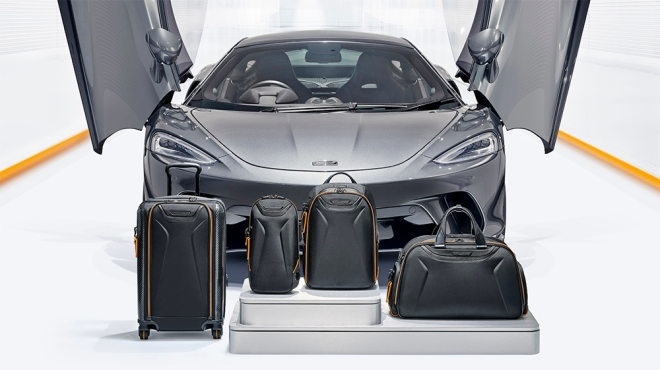 McLaren + Tumi Luggage Capsule Collection