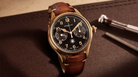 Montblanc 1858 Monopusher Chronograph Origins Limited Edition