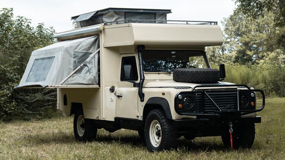 Osprey Custom Cars Land Rover Defender 130 Overland Camper
