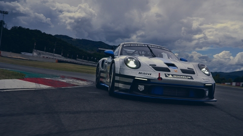 The 911 GT3 Cup for the Porsche Mobil 1 Supercup