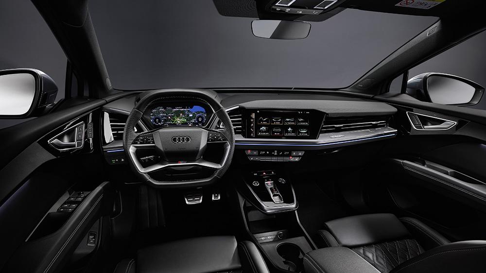 Inside the 2022 Audi Q4 e-tron