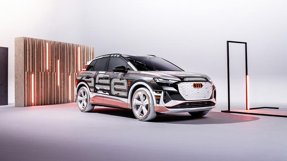 The 2022 Audi Q4 e-tron