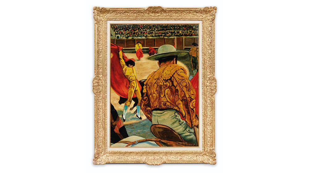 Francis Picabia, 'La Corrida,' ca. 1940–41