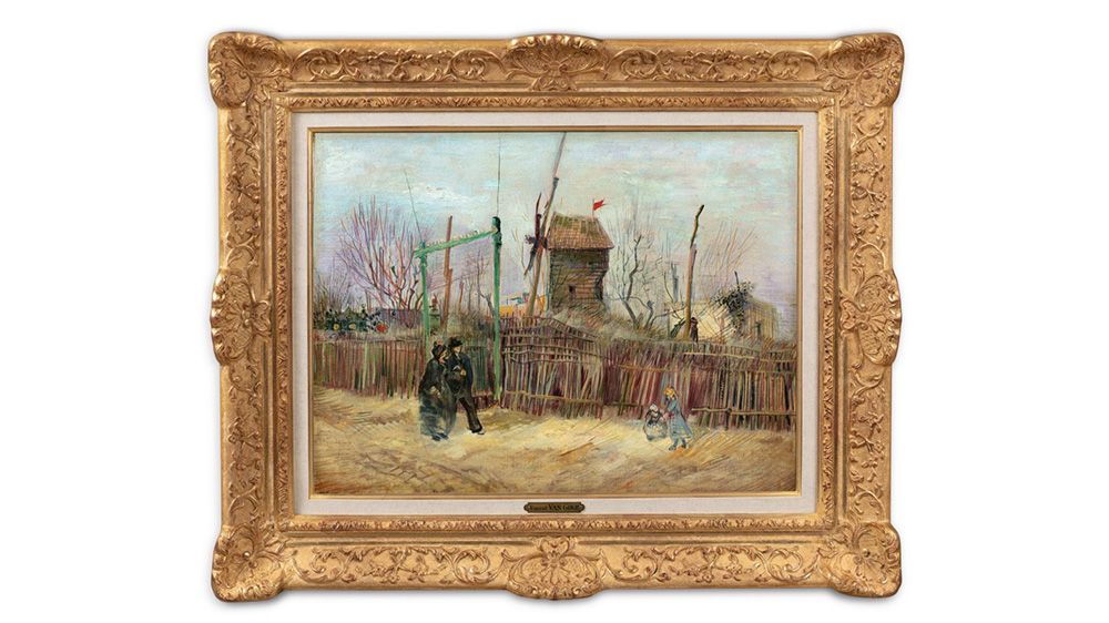 Pintura redescubierta de Vincent Van Gogh
