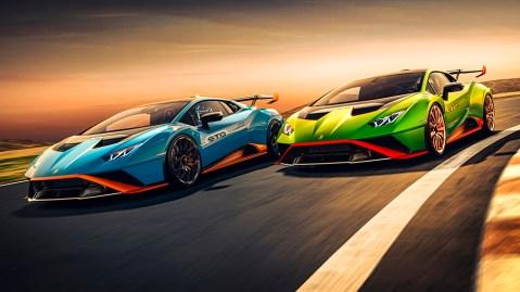 The Lamborghini Huracán STO