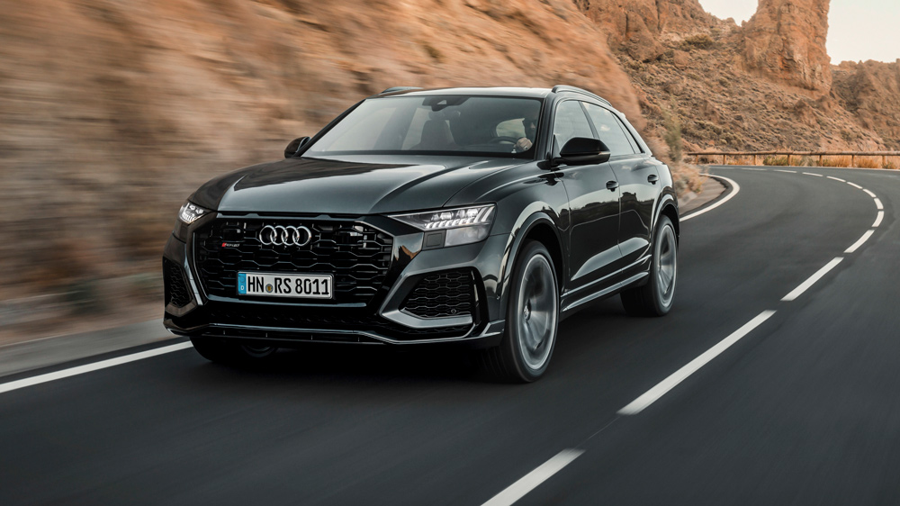 The Audi RS Q8 crossover SUV.