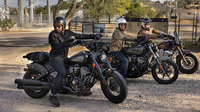 The 2022 Indian Chief model lineup.