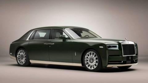 The one-off Rolls-Royce Phantom Oribe.